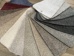 Fair twist bleach cleanableFelt back, modern colours£5.99 square yard.