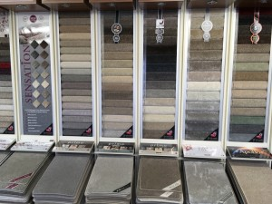 A small selection of Cormar carpets.